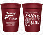 Personalized Wedding Favor Cups Custom Cup Gifts (474) Western Wedding Favors