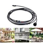 10/20/30/40ft Mist Cooling System Outdoor Water Greenhouse Mister Garden Patio