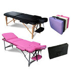 KMS Portable Folding Massage Table - Beauty Salon Tattoo Therapy Couch Bed