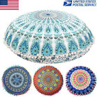 Hot Big Round Bohemian Cushion Case Soft Sofa Throw Waist Pillow Cover US STOCK