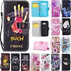 Magnetic Card Holder Leather Flip Wallet Case Cover Stand For Samsung Phone