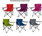 Portable Folding Outdoor Chair Camping Seat Picnic Beach Lawn ASSORTED Colors