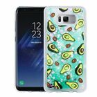 For Samsung Galaxy S8 /Plus Hybrid Bling Liquid Glitter Rubber TPU Case Cover