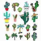 Coconut Tree Cactus Embroidered Patch Iron Sew On Applique Badge for Shirt Jeans $0.99 USD