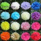 "Tissue Paper Pom Poms Flower Ball Wedding Party Birthday Decor 6""/8""/10""/12"""