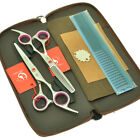 6.0inch Hairdressing Scissors Kit Barber Hair Cutting Shears Thinning Scissors