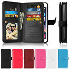 Deluxe Cards Wallet Leather Flip Case Cover For Alcatel Pop C7 4 Pixi 4 Idol 3