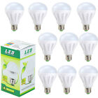 10PK 3W LED Cool Daylight White E27 Light Bulb E26 6000K 300lm 30W Equivalent