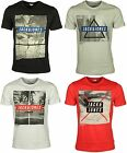 MENS NEW TSHIRT SHORT SLEEVE JACK & JONES IN BLACK CAYENNE WHITE COLOURS M-XL