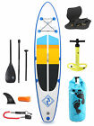 "Model IV Premium Azul 12'0 x 6"" Inflatable Paddleboard + Deluxe SUP Package"