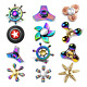 44 Fashion Styles Fidget Hand Spinner Finger Toy Metal Rainbow Focus Gyro Gift