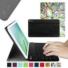 Fintie Leather Case Cover with Bluetooth keyboard for Samsung Galaxy Tab Tablet