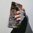 Luxury Bling Glitter Diamond Chain Soft TPU Case Cover For iPhone 6 6S 7 7 Plus