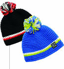 Dare2b Brain Storm Boys Colourful Hand-Knitted Fleece Lined Beanie 7-10yrs