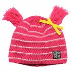 Dare 2b Precede Girls Fleece Lined Tassle Detail Knit Beanie Hat 7-10yrs