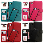 2 in 1 Magnetic Magnet Detachable Removable Wallet Leather Retro Case Cover