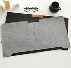 Felt Computer Laptop Desk Table Mat Mouse Pad Pen Holder for Macook iPhone
