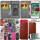For ZTE Various Phones - Universal Leather Wallet Case Cover Book + Stylus