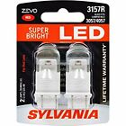Sylvania ZEVO LED 3157 Red Automotive Light For Sale