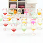 Miniature wine glass wedding decoration cake table key ring charms favours