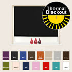 Thermal Blackout Roller Blinds - 100% Blackout - Up to 240cm wide available