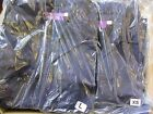 Job lot of 40 Tylers Navy Blue Long Sleeve Polo Top Shirt - Mixed Sizes #2