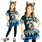 Childs Girls Mini Wolf Animal Book Week Day Halloween Fancy Dress Costume Outfit