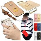 For Xiaomi Redmi Note 4X Strap Plating Armor Ring Holder Hard Case Cover Hybrid