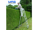 Hedge Cutting -Garden work platform Hedgemaster Step Ladder Work Platform