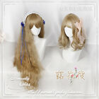 Sweet Lolita Harajuku Gradient Wig Small Fresh Curly Hair Hairpiece Moe#25-NQ35
