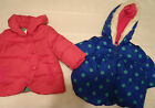 Gymboree Color Happy Pink or Blue 6-12 Month Choice Winter Coat Jacket NWT