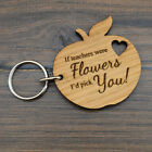 If Teachers Were Flowers Keyring - End Of Term Teacher Appreciation Leaving Gift