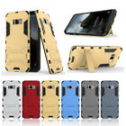 For Samsung Galaxy S8 Phone Case, Hybrid TPU+PC Kickstand Protective Cover