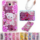 Soft Bling Dynamic Liquid Glitter Quicksand TPU Cover Case For Various Phone