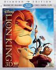 Disney DVD/3-D/BLU-RAY/DIGITAL COPY- THE LION KING - DIAMOND