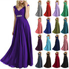 NEW Chiffon Long Bridesmaid Dresses Prom Dresses Evening Formal Ball Party Gown