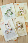 Sticky Pets Sticky Notes cute cartoon Cat Bear Squirrel Lamb planner note memo