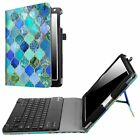 For iPad 9.7'' 5th Generation 2017 Bluetooth Keyboard Case Leather Stand Cover