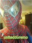 USA Toby Amazing Spiderman Adult Costume 3D Spandex Zentai Suit Tight for Coser