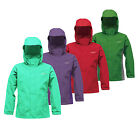 Regatta Greenhill Boys Waterproof Concealed Hood Jacket Coat