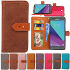European Mural Leather Stand Wallet Phone Case Card Holder For iPhone Huawei LG