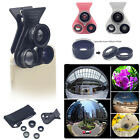 5-in-1 Fisheye+Macro+Wide Angle+CPL+Telephoto Camera Lens Clip-on For Cell Phone