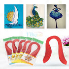 600 Strips Quilling Paper 3mm Width Origami Paper DIY Hand Craft High Q HH