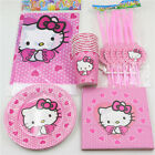 81pcslot Hello Kitty kids birthday party Decoration Paper Napkins Tablecloth