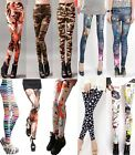 Women Sports Yoga Gym Wear Tight Trousers Leggings Workout Running Fitness Pants