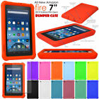 Kyпить Shock Protective Tough Rugged Rubber BUMPER Case for Amazon Fire 7