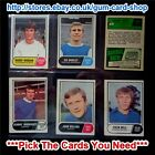 ☆ A&BC 1969 Green Back - 1st Series (G/F 1-64) *Pick The Cards You Need*