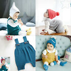Baby Sweater Solid Jumpsuit Newborn Boys Girls Knitted  Clothing Romper BL