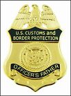 Customs and Border Protection Officers Family Member Lapel Pins