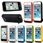 External Battery Power Backup Case Cover Charger For Iphone 5 5c5s 4200mah Us